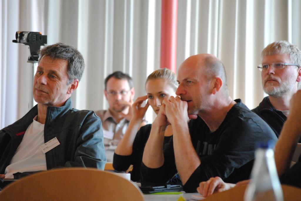 Marc Koel und Kollegen von der Bayerischen landesschule für Körperbehinderte