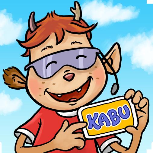 Logo von Kabu, der Info-App für Kinder
